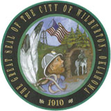 Seal of the City of Wilburton